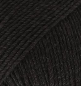 Drops Cotton Merino 02 Schwarz