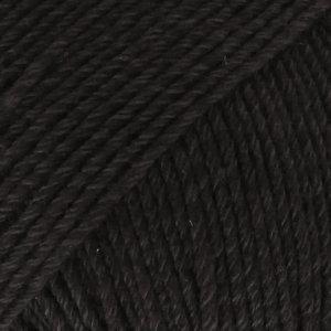 Drops Cotton Merino 02 Schwarz