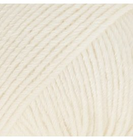 Drops Cotton Merino 01 Wit