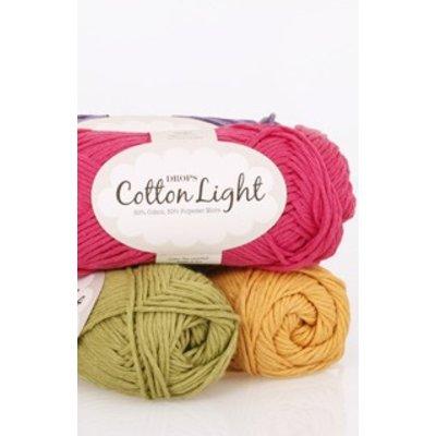 Drops Cotton Light Wolle & Garn 01 Naturel