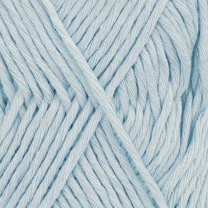 Drops Cotton Light 08 Eisblau