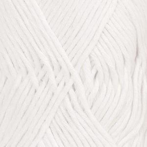 Drops Cotton Light 02 Weiß
