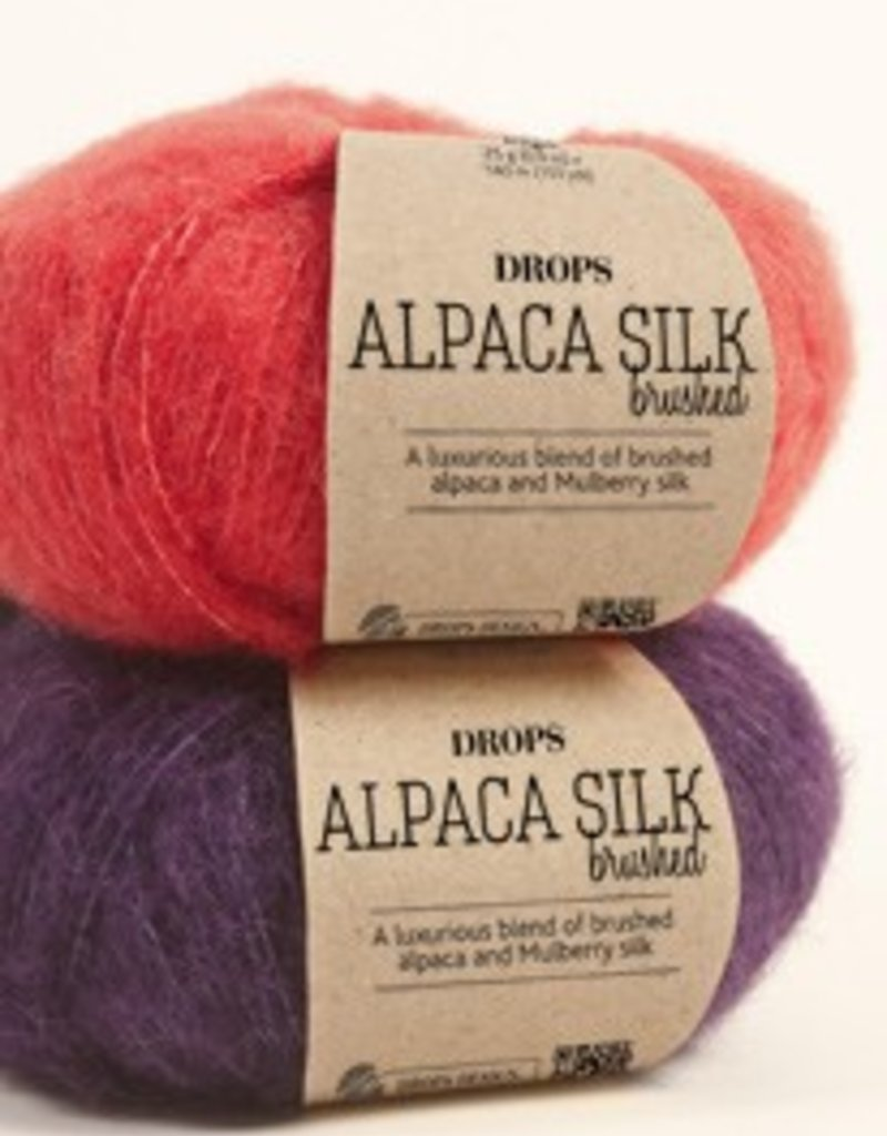 Drops Brushed Alpaca Silk Wool & Yarn