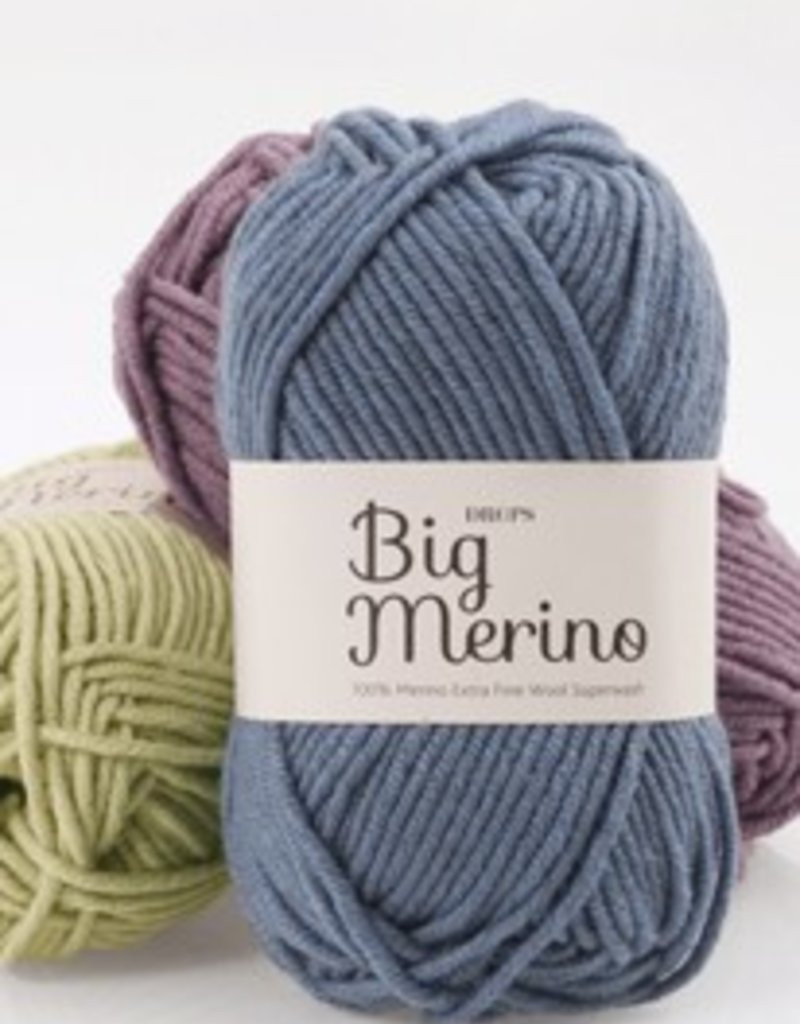 Drops Big Merino Wool & Yarn