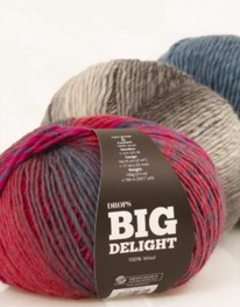 Drops Big Delight Wool and Yarn
