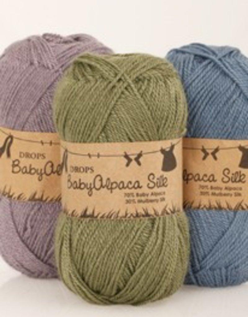 Drops Baby Alpaca Silk Wol & Garen