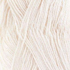 Drops Baby Alpaca Silk 1101 Bleekwit