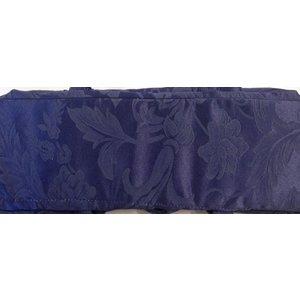 Breitas - Donkerblauw met bloemdesign