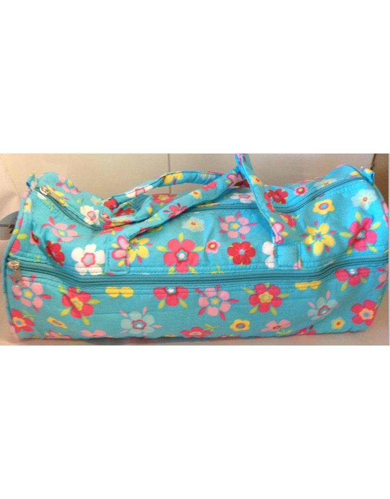 Stricktasche mit fröhlichen Design
