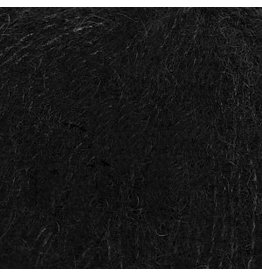 Drops Brushed Alpaca Silk 16 Schwarz