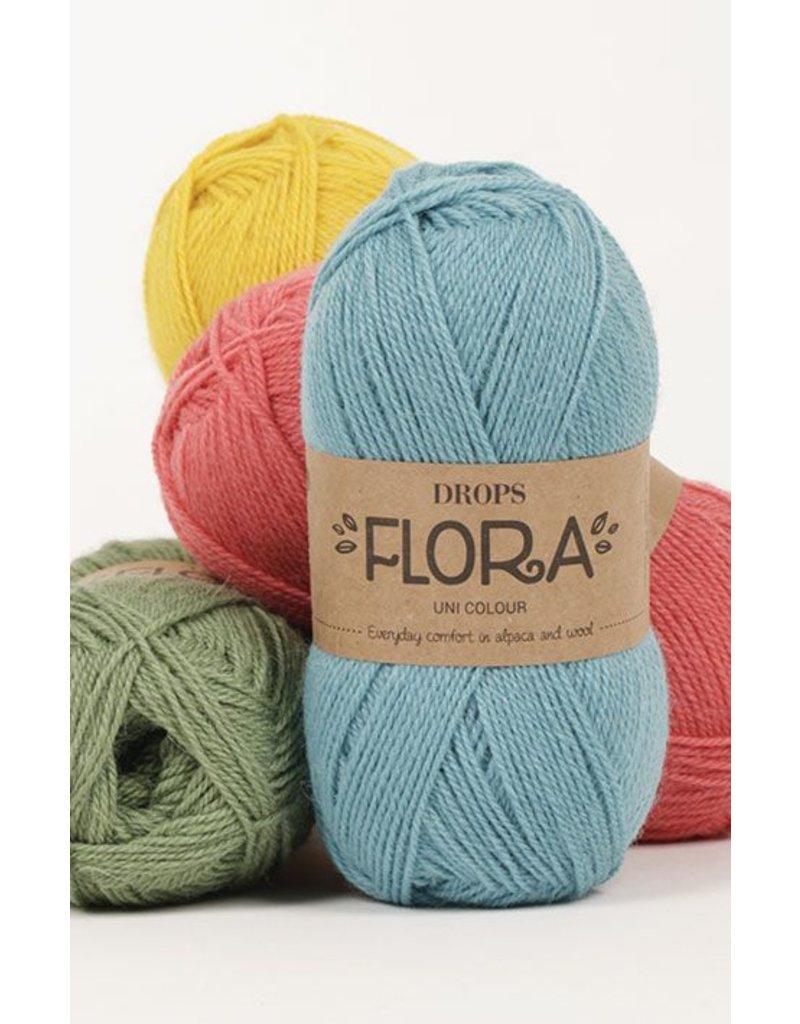 Drops Flora & Wool Yarn