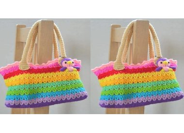 Knitted and crocheted