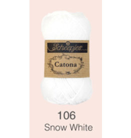 Scheepjes Catona 10 gram  - 106  Snow White