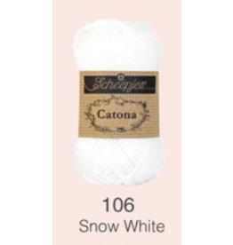 Scheepjes Catona 10 gram    Snow White 106