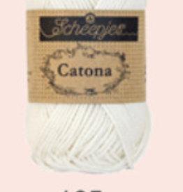 Scheepjes Catona 10 gram  - 105  Bridal White - 10 bollen voor