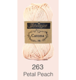 Scheepjes Catona 10 gram   - 263 Petral Peach