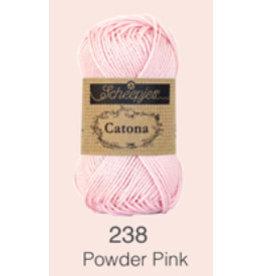 Scheepjes Catona 10 Gram  - 238 Powder Pink