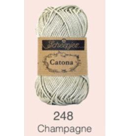 Scheepjes Catona 10 Gram  - 248 Champagne