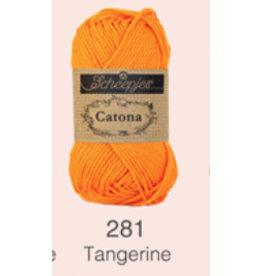 Scheepjes Catona 10 gram   - 281 Tangerine