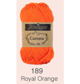 Scheepjes Catona 10 Gram  - 189 Royal Orange