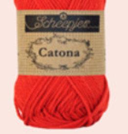 Scheepjes Catona 10 gram  - 115 Hot Red - 10 bollen voor