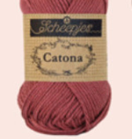Scheepjes Catona 10 gram  -  396 Rose Wine - 10 bollen voor