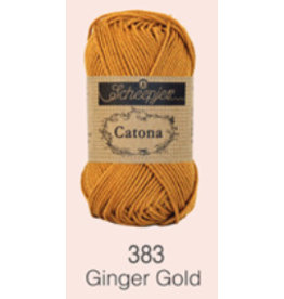 Scheepjes Catona 10 gram    - 383 Ginger Gold