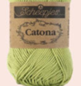 Scheepjes Catona 10 gram    - 512 Lime