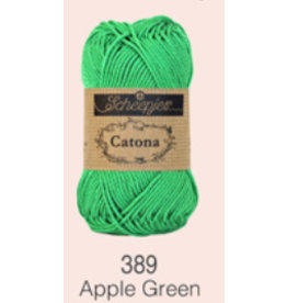 Scheepjes Catona 10 gram     - 389 Apple Green