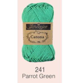 Scheepjes Catona 10 gram  - 241 Parrot Green