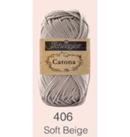 Scheepjes Catona 10 gram   - Soft Beige