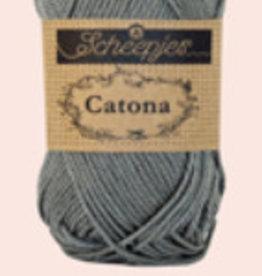 Scheepjes Catona 10 gram  - Metal Grey