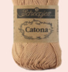 Scheepjes Catona 10 gram  - 502 Camel