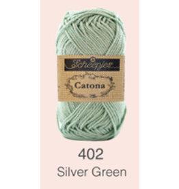 Scheepjes Catona 10 gram    - 402 Silver Green