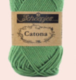 Scheepjes Catona 10 gram    - 412 Forest Green