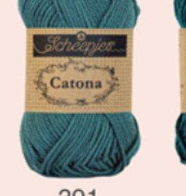 Scheepjes Catona 10 grams - 391 Deep Ocean Green - 10 balls before