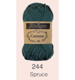 Scheepjes Catona 10 gram  - 244 Spruce
