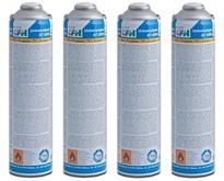 Pack éco CFH 4 cartouches de gaz universel sous pression 330 g