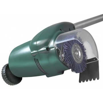 Eurom Electric patio weed brush, 400 watts with 2x plastic brushes