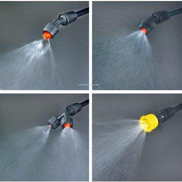 Eurom 1809 Backpack pressure sprayer / weed sprayer, 18 liters
