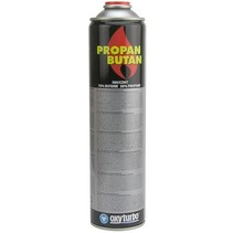 Universal gas cylinder, 600 ml for gas burners