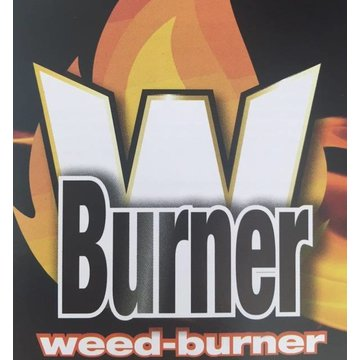 Powerful gas weed burner with Piezo ignition and soft handle, 1000°C max