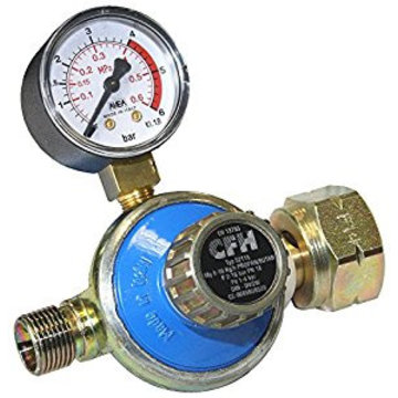 "CFH DR115 1 - 4 bar Adjustable pressure regulator, 3/8"" thread"