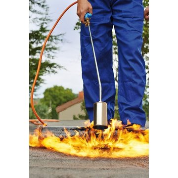 CFH PA079 Professional weed burner with 5 meter gas hose