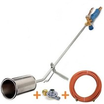 ST1000 Roofing torch with 5 meter connection hose and pressure regulator