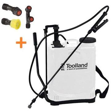 Toolland recoiled pressure sprayer 16 liter sprayer weed sprayer