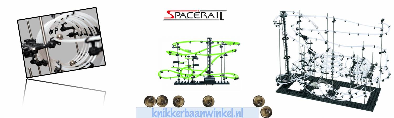 Spacerail knikkerbanen