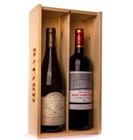 2-vaks Viré-Clessé Bourgogne en Saint André Corbin Bordeaux