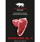 GUTSCHEIN 25,- €