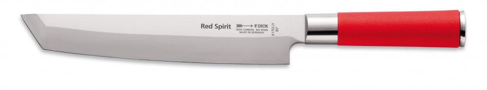 f dick tanto kochmesser red spirit f dick 210mm sippel beef. Black Bedroom Furniture Sets. Home Design Ideas